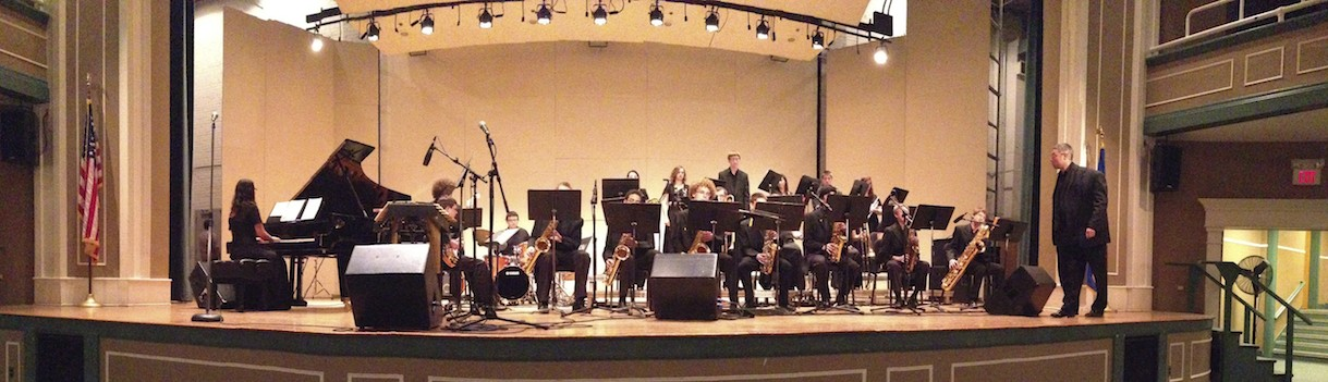 Jazz Ensemble at the WCSU Jazz Festival
